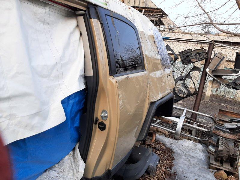 Дверь Toyota Fj Cruiser GSJ15 1GRFE 2012 задняя левая (б/у)