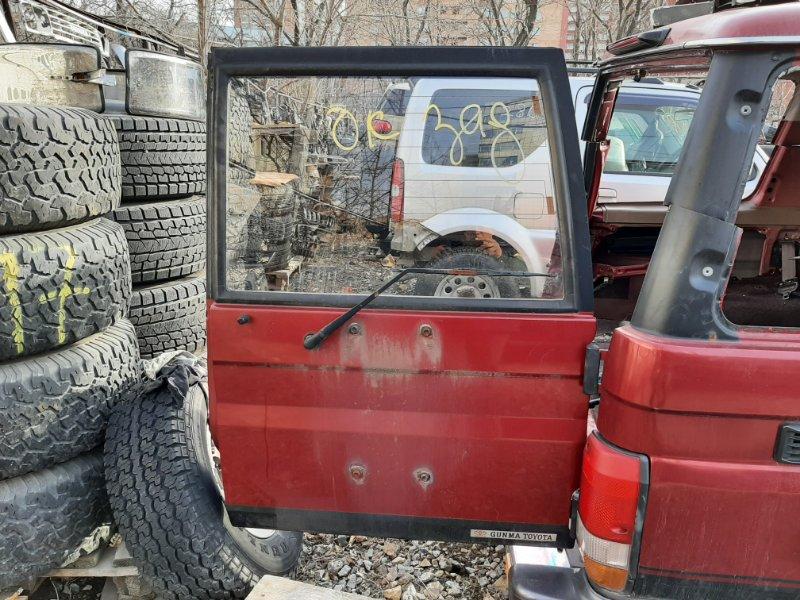 Дверь багажника Toyota Land Cruiser Prado KZJ78 1KZ-TE 1994 задняя правая (б/у)