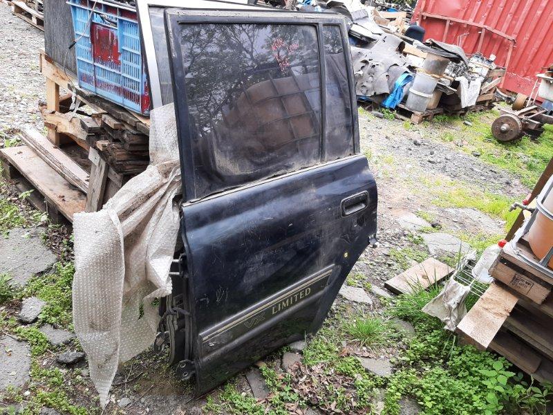 Дверь Toyota Land Cruiser HDJ81V 1HDT 1993 задняя левая (б/у)