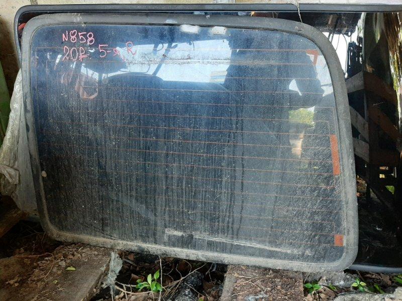 Стекло 5-й двери Toyota Land Cruiser HZJ80FJ80 1HD-T 1FZ-FE 1HZ заднее правое (б/у)