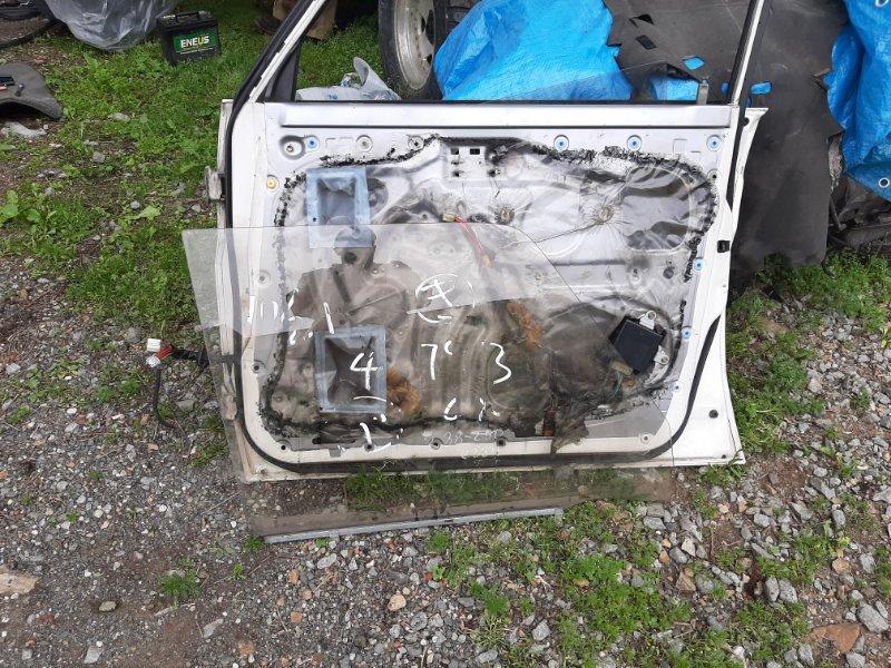 Стекло двери Toyota Land Cruiser Prado KZJ78 LJ78 1KZTE 2LTE 1993 переднее правое (б/у)