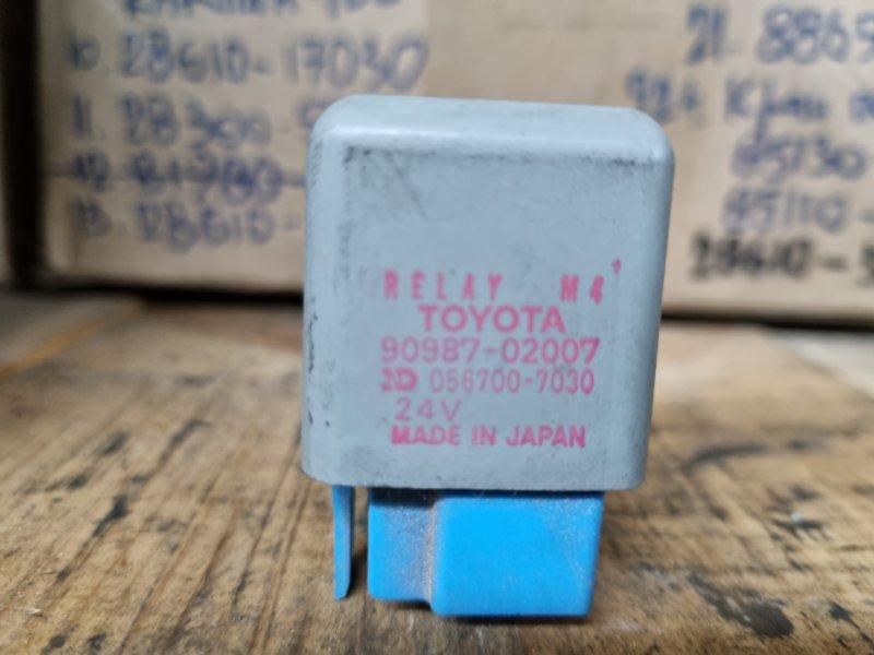 Реле Toyota Land Cruiser Prado HZJ77HV 1HZ 1991 (б/у)