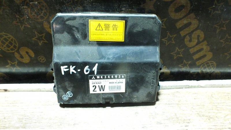 БЛОК УПРАВЛЕНИЯ ABS MITSUBISHI FUSO FIGHTER FK61F 6M60 24 ВОЛЬТА . 2 WD MK344936 Япония