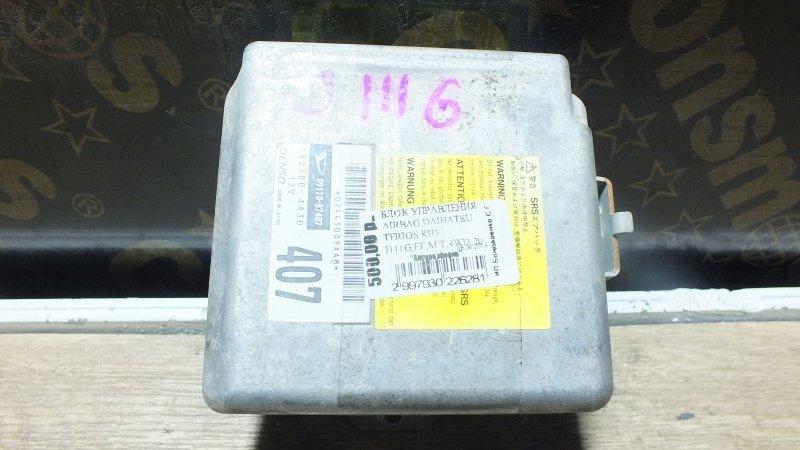 БЛОК УПРАВЛЕНИЯ AIRBAG DAIHATSU TERIOS KID J111G EF M/T 89170-87407 Япония