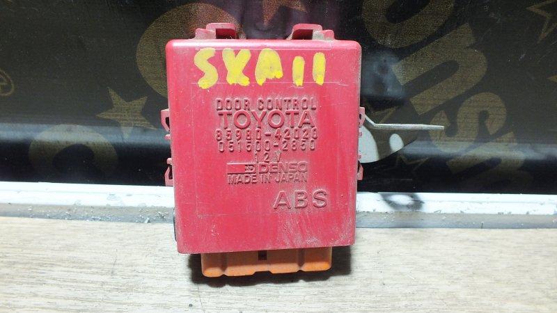 БЛОК УПРАВЛЕНИЯ ЗАМКАМИ ДВЕРЕЙ TOYOTA RAV4 SXA11 3SFE 85980-42020 Япония