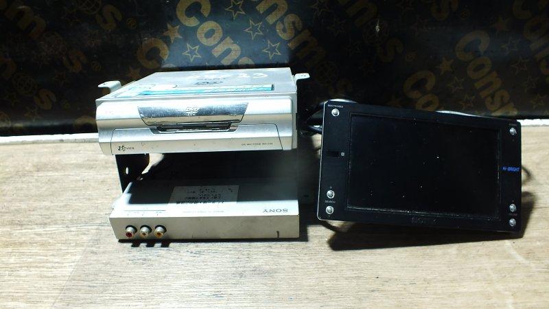 ДИСПЛЕЙ SONY XVM-W650B +TV-ТЮНЕР XT-G6500+DVD ROM NVX-G6500 12 ВОЛЬТ Япония
