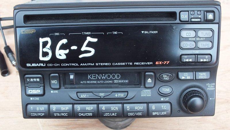 МАГНИТОФОН SUBARU LEGACY BG5 EJ20 KENWOOD GX-77 Япония