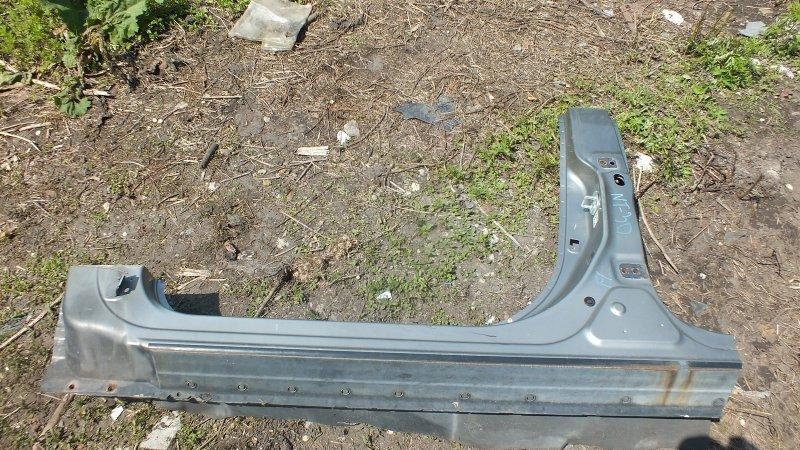 Порог кузова Nissan X-Trail NT30 QR20DE передний левый (б/у)
