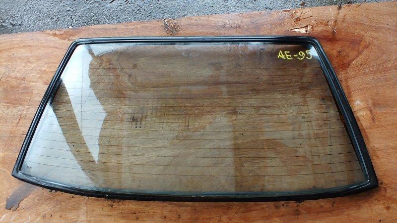 СТЕКЛО ЗАДНЕЕ TOYOTA COROLLA LEVIN AE85 64801-12310 Япония