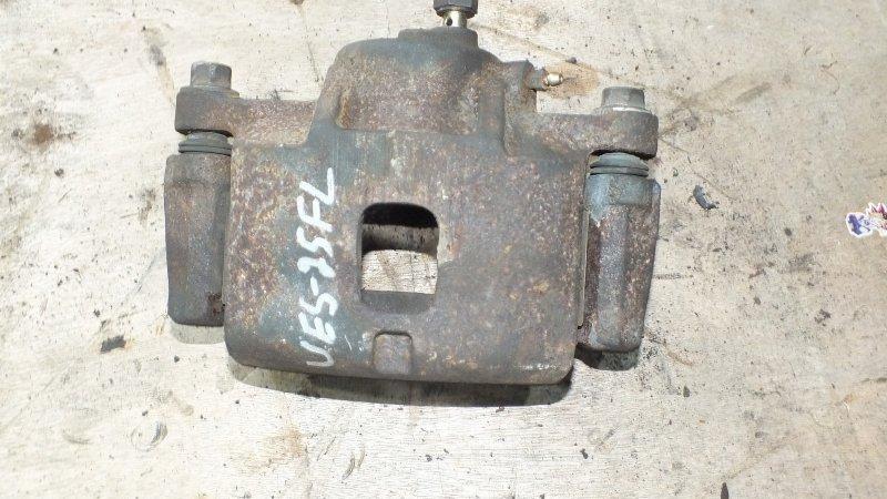 Суппорт тормозной Isuzu Mu UES25EW 6VD1 1998 передний левый (б/у)