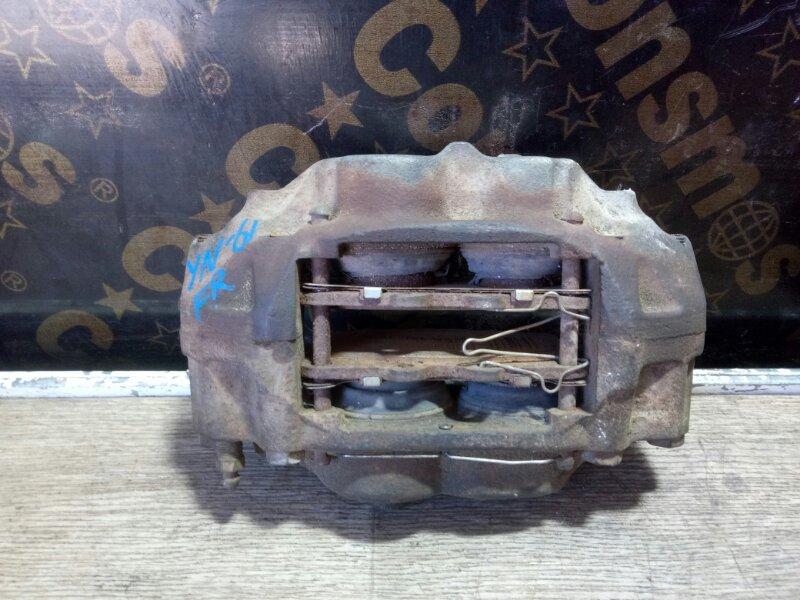 Суппорт тормозной Toyota Hilux YN61G 3YEU 1989 передний правый (б/у)