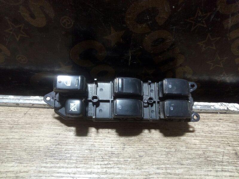 Блок управления стеклоподъемниками Toyota Isis ZNM10 1ZZFE 2006 передний правый (б/у)