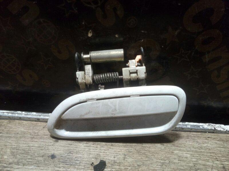 Ручка двери наружная Subaru Legacy BH5 EJ206 задняя левая (б/у)