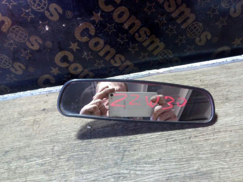 Зеркало салона Toyota Mr-S ZZW30 1ZZFE 2000 (б/у)