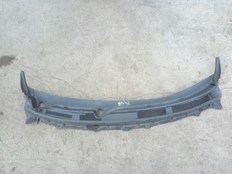 Решетка дворников (жабо) Nissan X-Trail NT31 MR20(DE) 2011 (б/у)