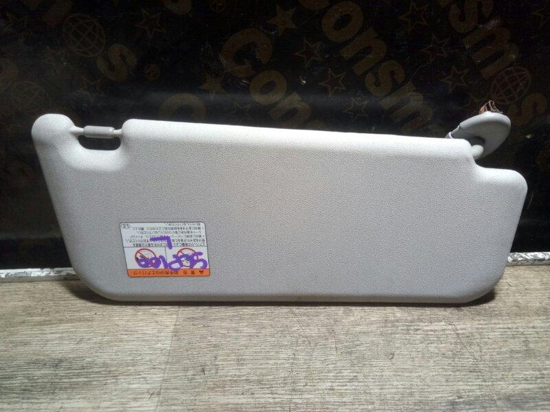 Козырек солнцезащитный Toyota Ractis SCP100 2SZFE 2005 левый (б/у)