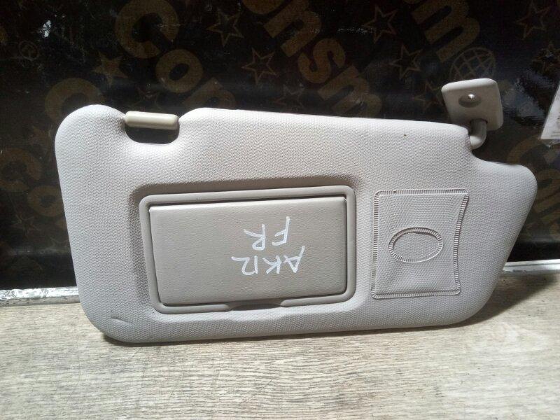 Козырек солнцезащитный Nissan March AK12 CR12(DE) 2004 правый (б/у)