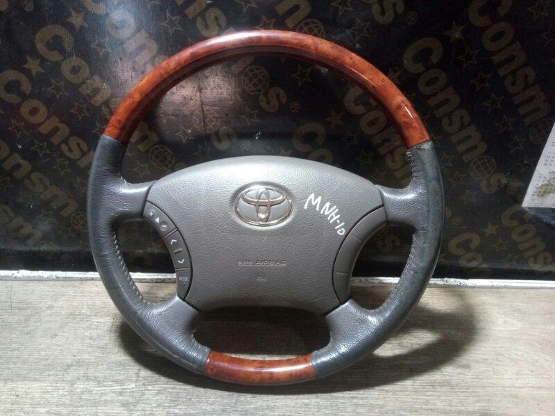 Руль Toyota Alphard MNH10 1MZFE 2004 (б/у)