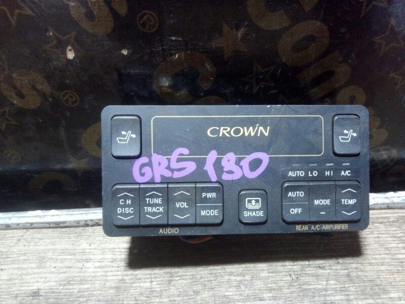 Пульт управления Toyota Crown GRS180 4GRFSE 2005 (б/у)