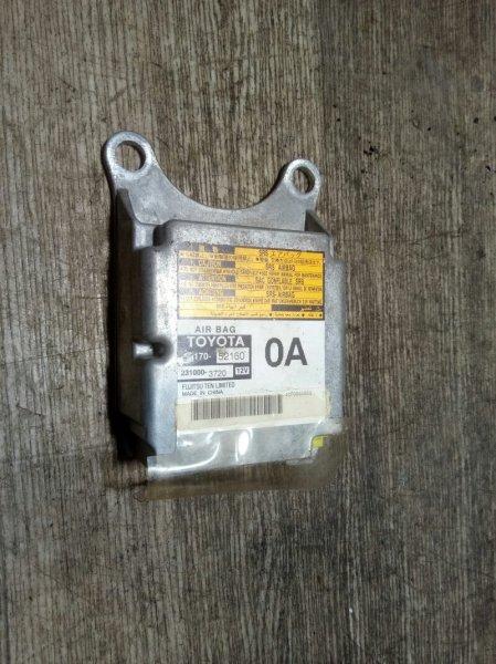 Блок управления airbag Toyota Ractis SCP100 2SZFE 2005 (б/у)