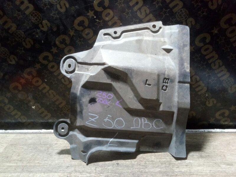 Защита двигателя Nissan Murano PNZ50 VQ35(DE) 2008 левая (б/у)