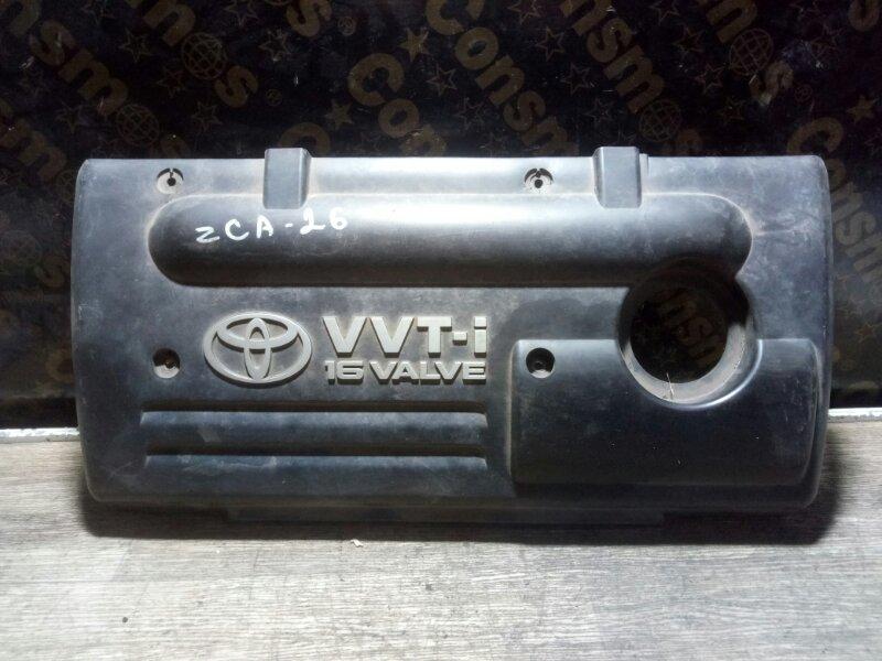 Крышка двс декоративная Toyota Rav4 ZCA26 1ZZFE 2001 (б/у)