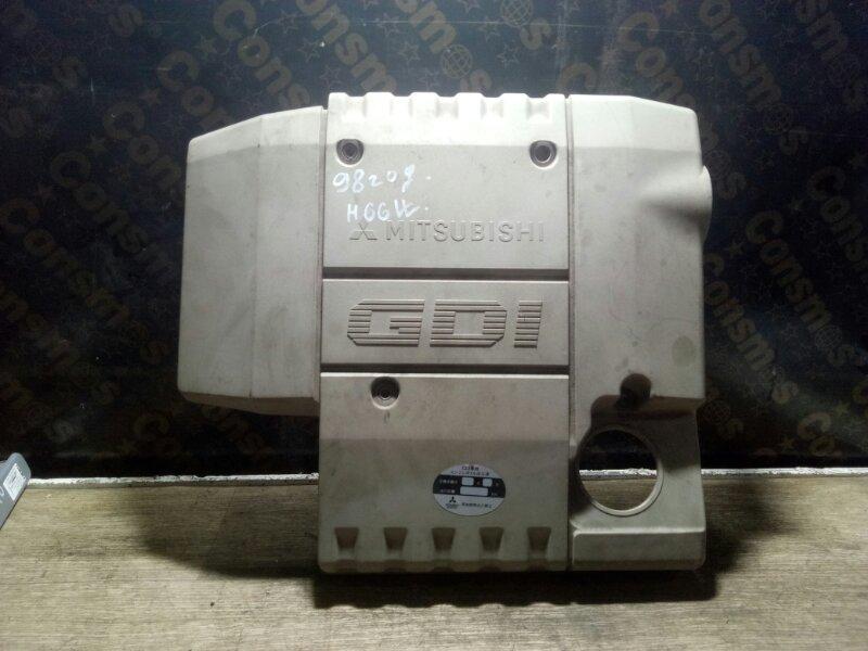 Крышка двс декоративная Mitsubishi Pajero Io H66W 4G93 1998 (б/у)
