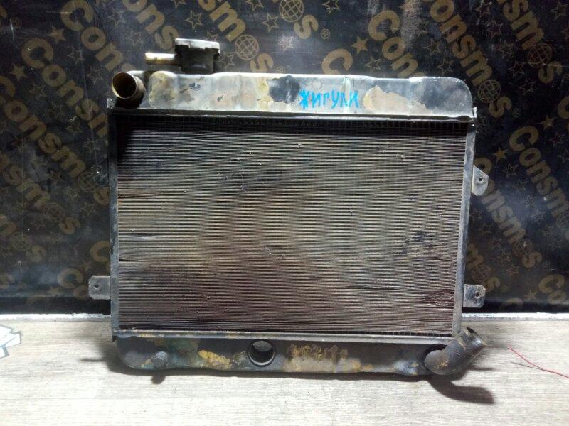 Радиатор охлаждения двигателя Ваз (б/у)