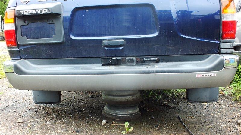 Бампер Nissan Terrano RR50 QD32(ETI) 1997 задний (б/у)