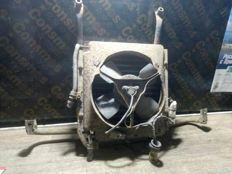 Радиатор охлаждения двигателя Toyota Lite Ace KM30 5KU нижний (б/у)