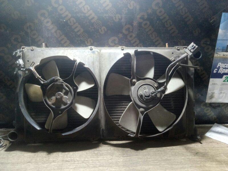 Радиатор охлаждения двигателя Toyota Lite Ace YM30 2Y (б/у)
