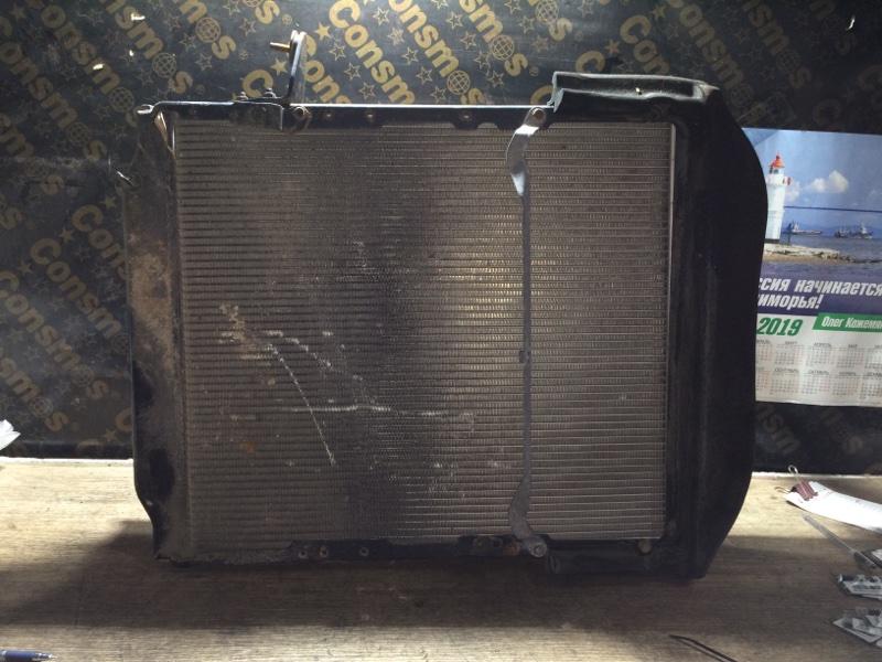 Радиатор охлаждения двигателя Hino Dutro XZU378 N04C 2006 (б/у)