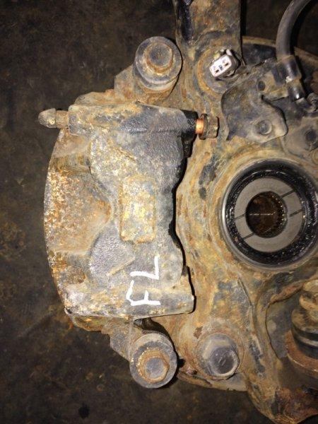 Суппорт тормозной Hino Dutro XZU378 N04C 2006 передний левый (б/у)