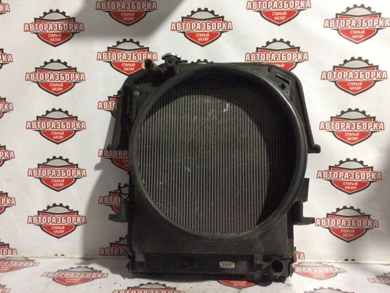 Радиатор охлаждения двигателя Mazda Titan LJR85 4JJ1 2007 (б/у)