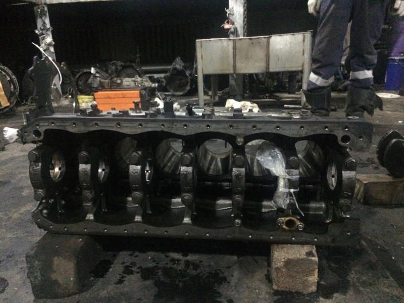 Блок двс Nissan Diesel MK252 FE6 (б/у)