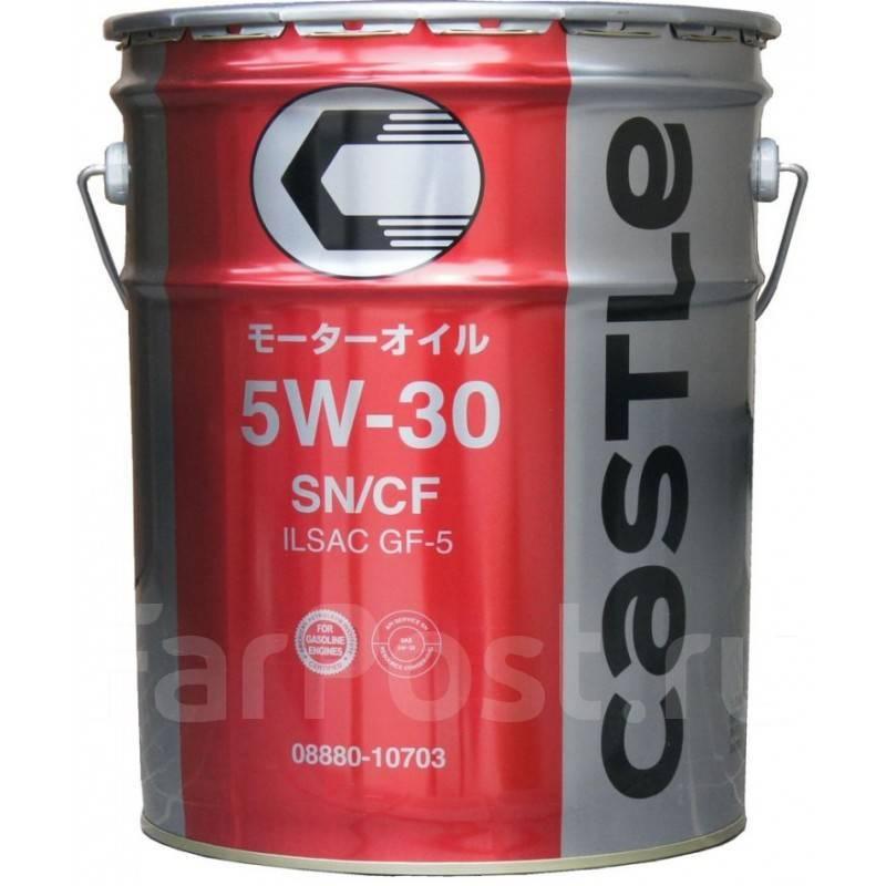 Масло моторное бочка - 209 литров Масла И Технологические Жидкости Castle Motor Oil 5W30 Sn/сf