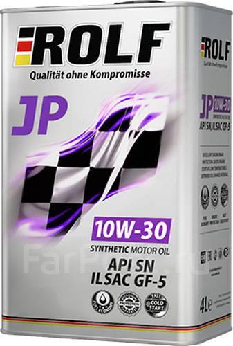 Масло моторное - 4 литра Масла И Технологические Жидкости Rolf Jp Sae 10W-30 Gf-5/api Sn