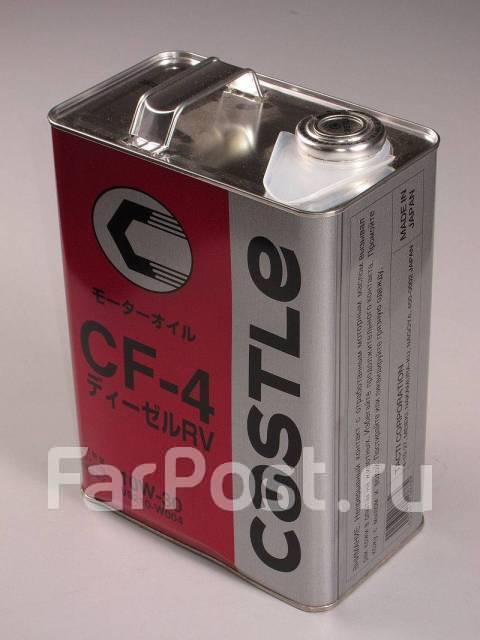 Масло моторное - 4 литра Масла И Технологические Жидкости Castle Diesel Oil Rv Special Cf-4 10W-30