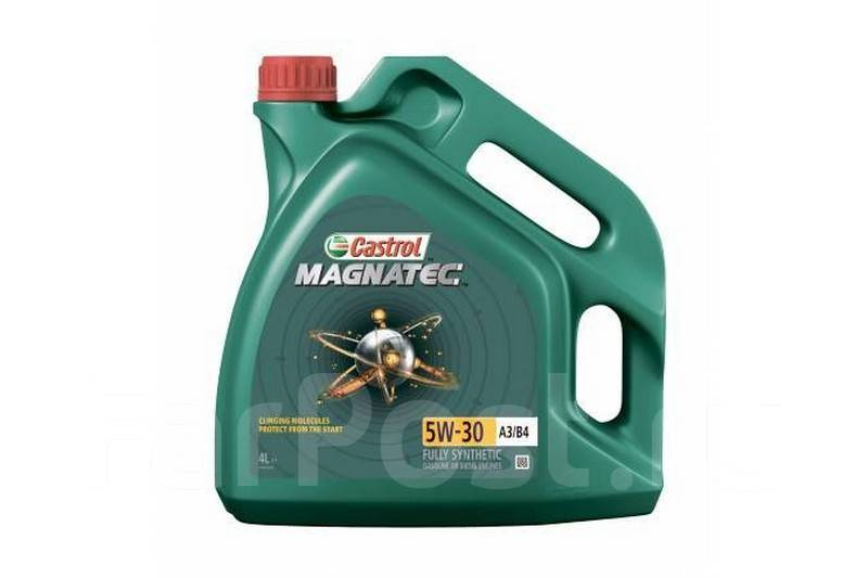 Масло моторное - 4 литра Масла И Технологические Жидкости Castrol Magnatec 5W-30 A3/b4