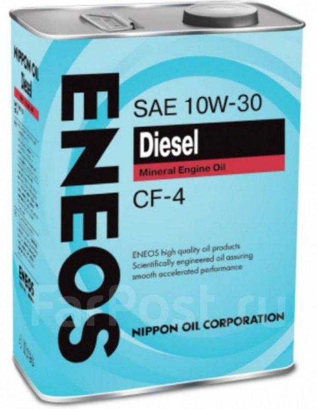 Масло моторное - 4 литра Масла И Технологические Жидкости Eneos Diesel Cf-4 10W30
