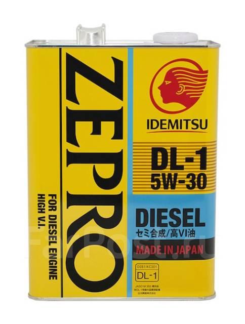 Масло моторное - 4 литра Масла И Технологические Жидкости Idemitsu Zepro Diesel 5W30