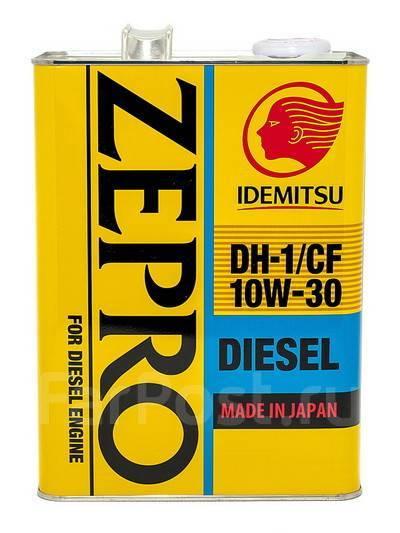 Масло моторное - 4 литра Масла И Технологические Жидкости Idemitsu Zepro Diesel Cf/dh-1 10W30