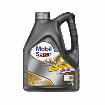 Масло моторное - 4 литра Масла И Технологические Жидкости Mobil Super 3000 X1 Formula Fe 5W30 Sl/cf