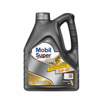 Масло моторное - 4 литра Масла И Технологические Жидкости Mobil Super 3000 X1 5W-40 Sn/sm/cf