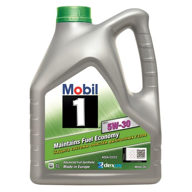 Масло моторное - 4 литра Масла И Технологические Жидкости Mobil-1 Esp Formula 5W30 Sn/cf C2/c3