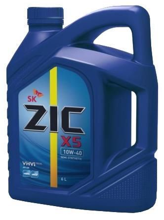 Масло моторное - 4 литра Масла И Технологические Жидкости Zic X5 10W40 Sn/sm