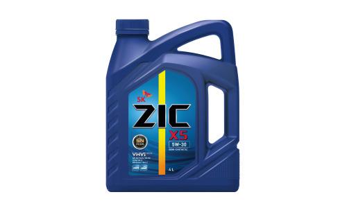 Масло моторное - 4 литра Масла И Технологические Жидкости Zic X5 5W30 Sn/ilsac Gf-5