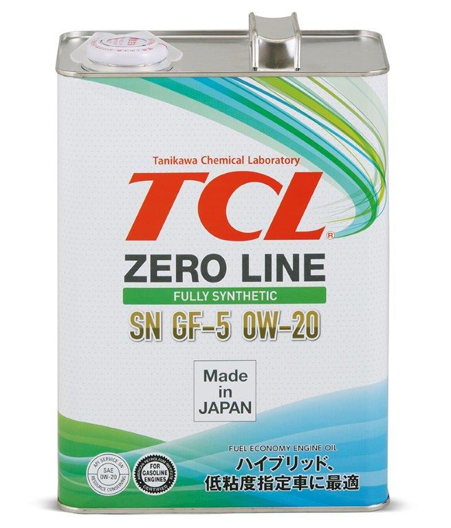 Масло моторное - 4 литра Масла И Технологические Жидкости Tcl Zero Line 0W-20 Sn/ Gf-5