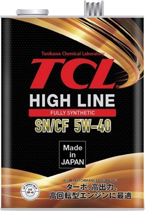 Масло моторное - 4 литра Масла И Технологические Жидкости Tcl High Line Sn/cf 5W40