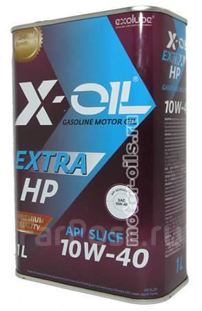 Масло моторное - 1 литр Масла И Технологические Жидкости X-Oil Extra Hp 10W40 Sl Cf